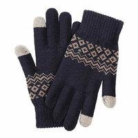 Перчатки Xiaomi FO Touch Wool Gloves 160/80, синий (ST20190601)